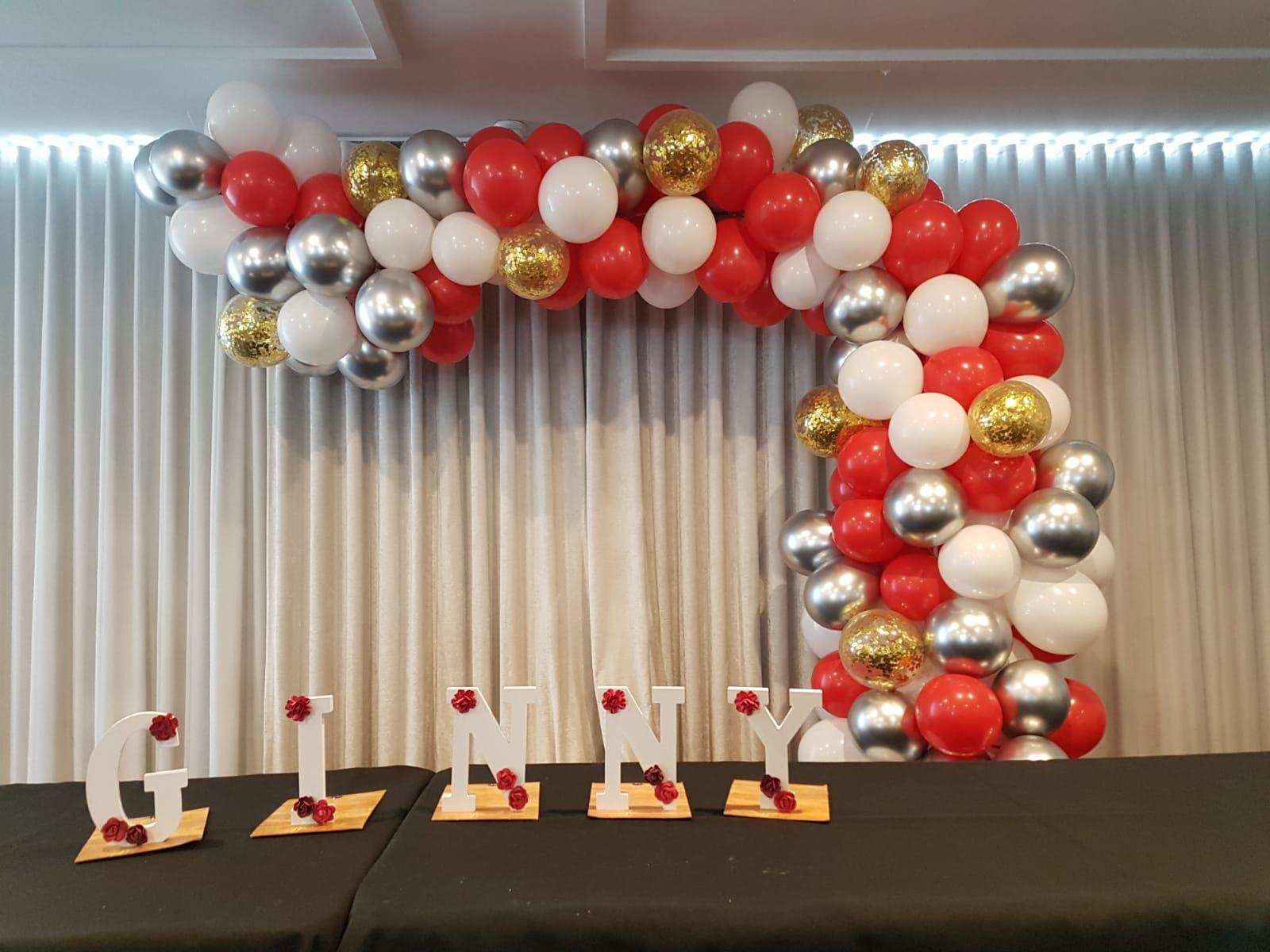 Milestone Birthdays Balloons 1