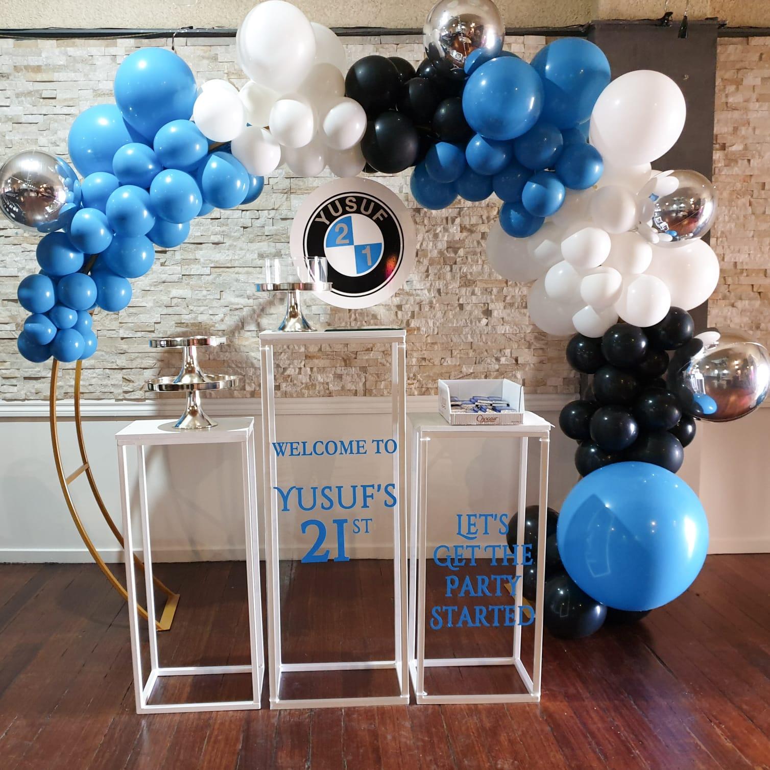 Milestone Birthdays Balloons 11