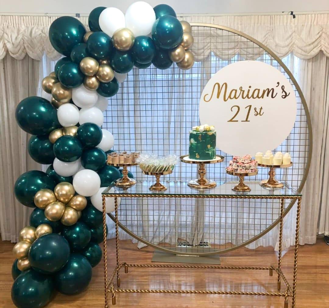 Milestone Birthdays Balloons 13