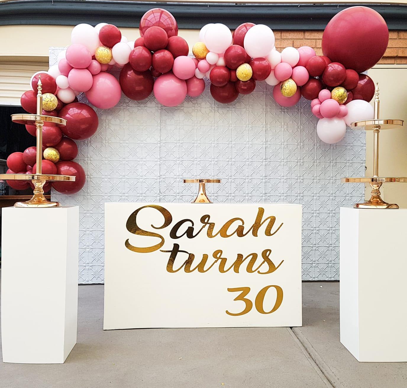 Milestone Birthdays Balloons 4